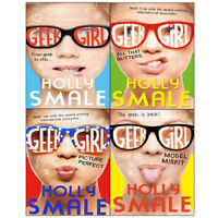 Holly Smale Geek Girl Collection Vol (1-4) 4 Books Set (All That Glitters) New