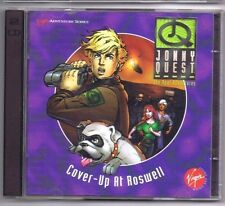 Jonny Quest Cover Up as Roswell 2 CD's MAC & PC Game Free USA Shipping!