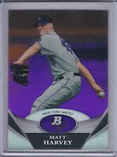 MATT HARVEY 2011 Bowman Platinum Prospects Purple Refractor #BPP66  (C6557)