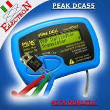 PEAK DCA55 Analizzatore semiconduttori - Semiconductor Component Analyzer Tester