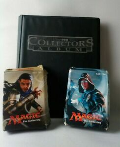 Collection of Magic The Gathering Cards - Includes 2 Deck Boxes / Card Album