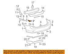 TOYOTA OEM 09-10 Corolla Rear Bumper-Upper Retainer Left 5256302060
