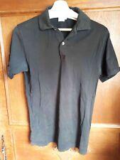 Polo Sunspel (noir) - Taille S