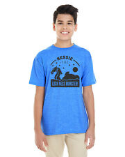 'Nessie the Loch Ness Monster!' Youth Heathered Soft Cotton T-Shirt