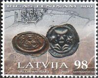 Lettland 808 (kompl.Ausg.) postfrisch 2011 Pfennig