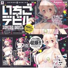 Super Sonico Ichigo Devil Music CD with Poster Banpresto