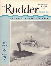The Rudder November 1953 How To build a Steam Box, On Rope  042917nonDBE