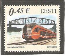 2012   ESTONIA - SG  692 - RAILWAY BRIDGES - UMM