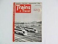 Vintage Trains Magazine September 1952 Illustrated Railroading Reference
