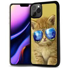 ( For iPhone 11 ) Back Case Cover AJ12123 Cute Cat