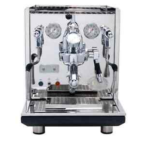 Refurbished ECM Synchronika Dual Boiler Espresso Machine with Flow Control