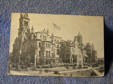 Vintage Postcard College Hall, U Of Penna, Phila, Pa.