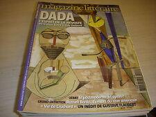 MAGAZINE LITTERAIRE 446 10.2005 DOSSIER DADA ESPRIT de la REVOLTE Russell BANKS