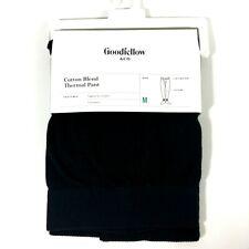 Goodfellow & Co Mens Cotton Blend Thermal Pant Medium Black
