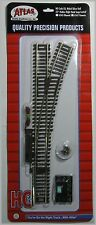 "ATLAS 547 HO Scale Code 83 Right Hand Switch 22"" Radius Remote"