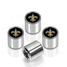 New NFL New Orleans Saints Car Truck Chrome Finish Tire Valve Stem Caps Covers