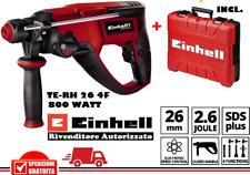 TRAPANO ELETTRICO TASSELLATORE TE-RH 26 4f - 4257960 EINHELL SDS PLUS 800W + VAL
