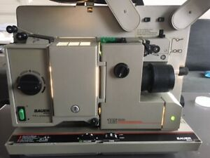Bauer P 8  16 mm Filmprojektor