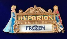 WDI DISNEY FROZEN JUMBO MARQUEE ELSA ANNA OLAF HYPERION CAST EXCLUSIVE LE150 PIN