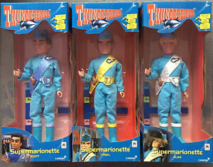 Thunderbirds Supermarionette Puppets New Unopened Boxed Scott, Virgil & Alan