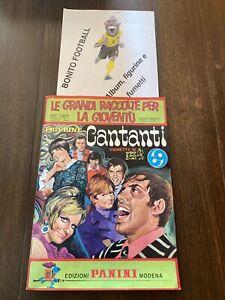 album cantanti panini 1969 COMPLETO EDICOLA (A1)