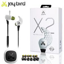 Genuine JayBird BlueBuds X2 Sport Bluetooth Headphones storm white