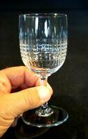 Beautiful Baccarat Nancy Claret Glass
