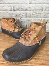 """LL Bean 6"""" Bean Boots Duck Boots Brown CLASSIC Sz 11"""