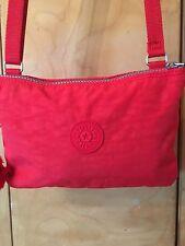 KIPLING Mikki Crossbody /Shoulder Bag In Red Excellent Condition !!!