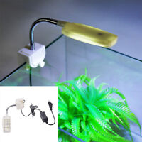 32 LED Aquarium Licht Klemm Clip Flexible White & Blue Beleuchtung Lampe  G3D