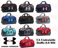 Under Armour Undeniable 1300213 Duffle 3.0 Medium UA Storm Sports Gym Bag Tough