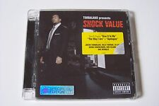 TIMBALAND - SHOCK VALUE CD 2007 (SPECIAL EDITION) Justin Timberlake 50 Cent