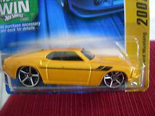 Hot Wheels '69 Ford Mustang 2007 New Models Yellow