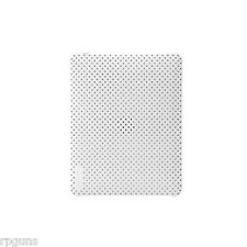 NEW Incase Snap Perforated Hardshell Ipad Case White USA FREE SHIP IE1219