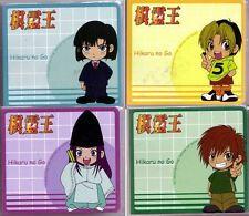 Hikaru no Go 4 Memopad Set Anime Manga NEW