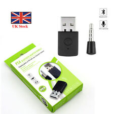 Wireless Bluetooth 4.0 Receiver USB Dongle Adapter For PS4 Headphone Microphone