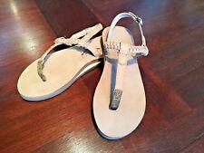 Rainbow Sandals Women's Sophia Premier Leather Single Layer Dark Brown M 6.5-7.5