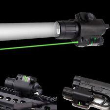 US Tactical CREE LED Flashlight&Green Laser Sight 20mm Rail For Rifle Pistol Gun