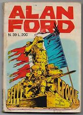 ALAN FORD N.39 BELLE EPOQUE originale editoriale corno 1972 magnus & bunker e