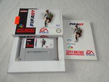 Fifa 97 SNES Super Nintendo Spiel komplett mit OVP und Anleitung