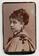 Vintage CDV Pauline Lucca operatic soprano, Sarony Photo
