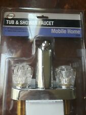 DANCO Mobile Home RV  2 Handle Tub 4 inch Shower Faucet In Chrome