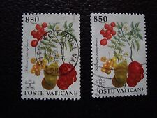 VATICAN - timbre yvert et tellier n° 931 x2 obl (A28) stamp
