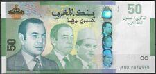 2009 Morocco Banknote Commemorative 50 Dirhams P-72 UNC**