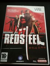 Red Steel Nintendo Wii Game Wii U Boxed Complete