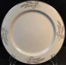 "Lifetime China Prairie Gold Dinner Plate 10 1/4"" Alliance Ohio"
