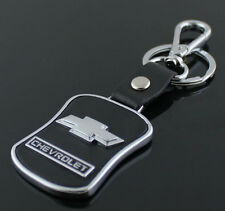 New Chevrolet Series Style Car Keychain  Leather Keychain Collect Key Ring gift