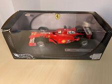 F1 Ferrari F2001 - Hot Wheels 1:18 - Marlboro - M. Schumacher 2001 - Formula 1
