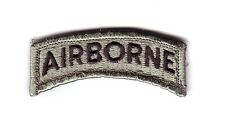 "AIRBORNE ""ACU Tab"" (Fabrication Actuelle)"