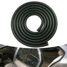 5M U Type Car Door Edge Dustproof Soundproof Rubber Seal Sealing Strips Black